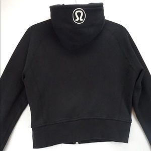 🍋 Lululemon black scuba hoodie size 14